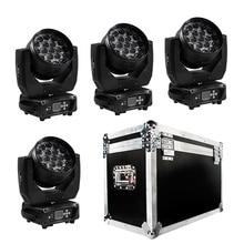 19X15 Вт светодиодный зум перемещение головы свет RGBW с эффектом стирки диджейское световое оборудование DMX512 шоу на сцене вечерние бар SHEHDS освещения 15/29 Каналы