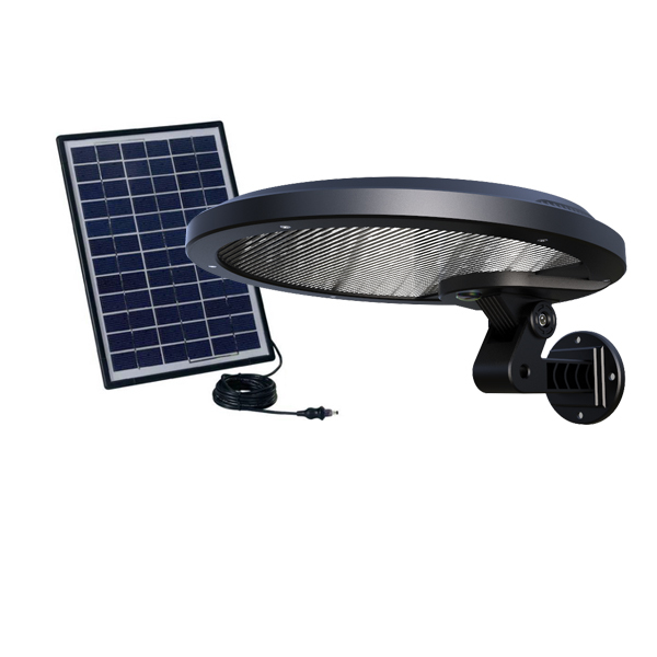 External Solar Panel Charged Rotatable And Detachable Led Outdoor Wall Light