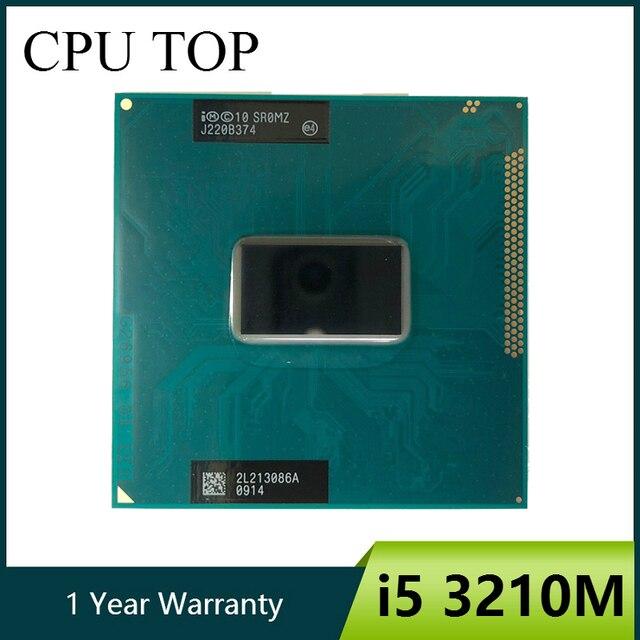 Двухъядерный процессор intel Core i5 3210M 2,5 ГГц для ноутбука SR0MZ socket G2 i5 3210M CPU
