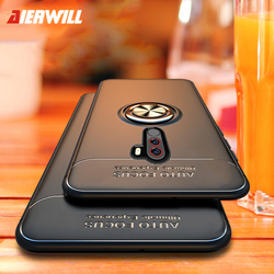 Shockproof Case For Pocophone F1 Case Finger Ring Magnet Matte tpu Silicone Cover For Xiaomi PocoPhone F1 case pocophon Poco F1