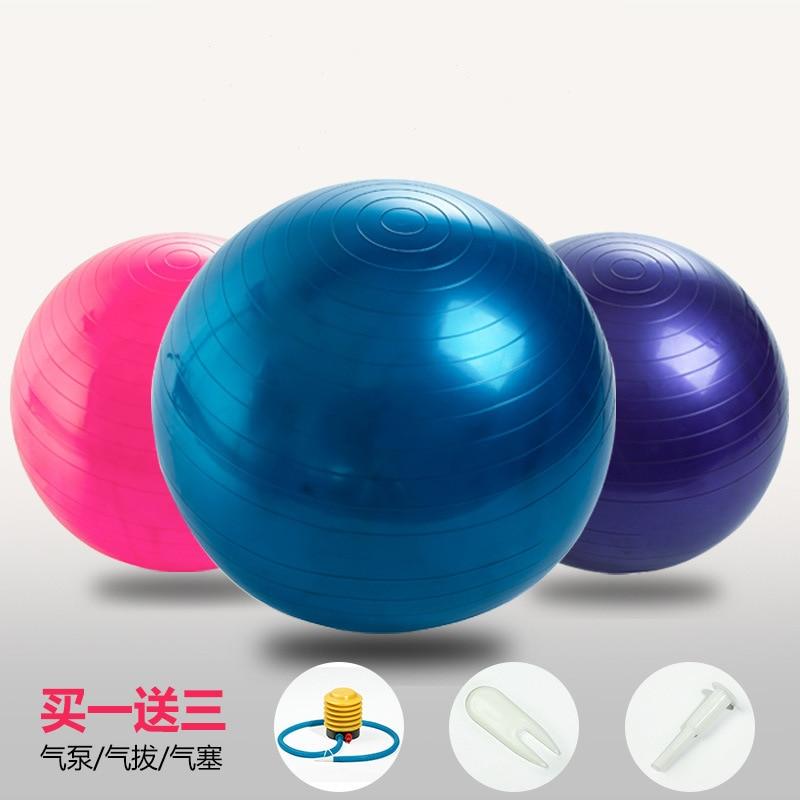 Yoga Fitness Ball 65cm Utility Yoga Balls Pilates Balance Sport Fitball  Proof Balls Anti-slip 2a09a78df4de1