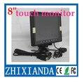 Venda por atacado! 8 polegada 4:3 touch monitor VGA com VGA/USB