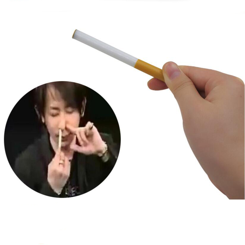 Cigarette Up Nose Magic Tricks Magia Trick Children Easy Toys Close Up Magie