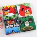 Hot Sale 4Pairs/lot 3D Printing Angry Bird Cartoon Pattern Cotton Children's Boys Socks Baby Socks Suitable For 2-10 Year
