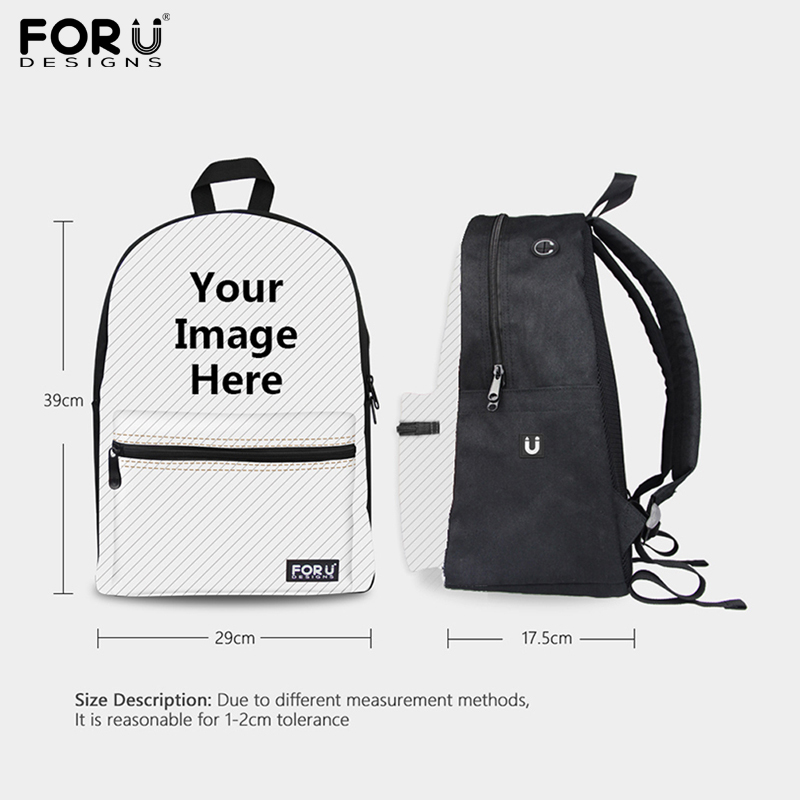 db77782ed2 FORUDESIGNS Canvas School Backpacks Fashion BTS School Bagpack for ...