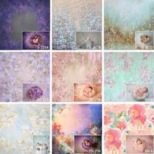 Art Fabric Photography Backdrop Newborn Baby Shower Floral Fairy Decorations Photocall Background Vinyl Photographic Backgrounds allenjoy photography background christmas tree gifts sofa wood floor backdrop photocall customize vinyl photographic