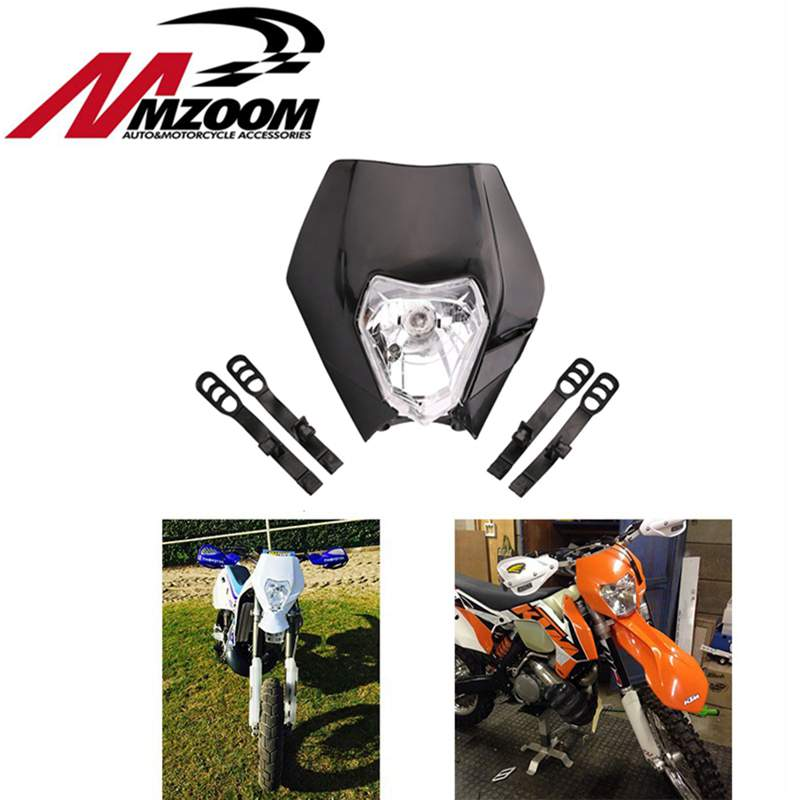 GRATIS VERZENDING MZOOM Motorfiets Motocross Supermoto Koplamp Universele Koplamp Kuip voor KTM SX EXC