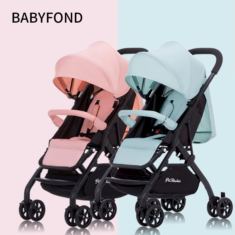 Twins Baby stroller 4.9KG   Can Be Split baby Can Sit and Lie Down Ultra-lightweight  folding  Double Baby Carriage portable car