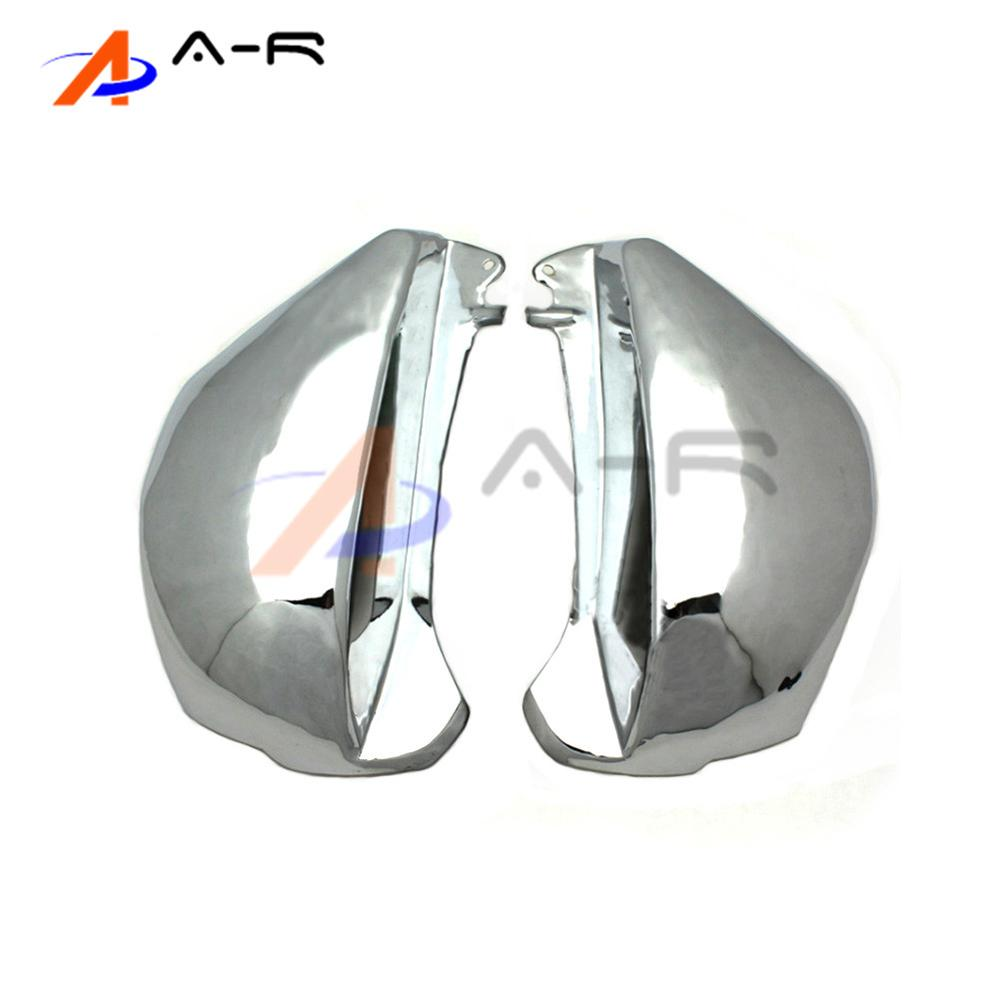 For Honda Magna VF750 VF-750 1994-2003 VF 750 94 95 96 97 98 99 00 01 02 03 Chrome Fairing Battery Side Cover рычаги тросики и кабели для мотоцикла rctoper honda vtr1000f firestorm 98 99 00 01 02 03 04 05