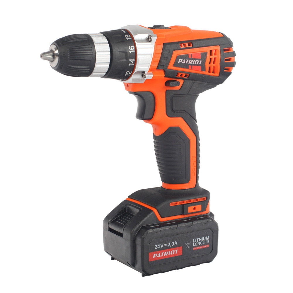 Cordless drill screwdriver PATRIOT BR 241Li The One cordless drill driver patriot br 104li the one