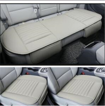 Leather car seat cushion car pad for BMW e30 e34 e36 e39 e46 e60 f11 f10 f30 x3 x5 E35 x1 328i e82 e84 x1 e87 e90 e91 e92 f10 image