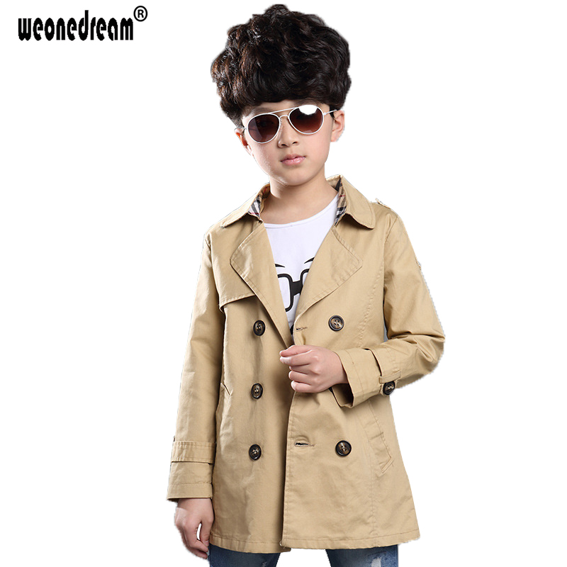 5e8c49e21229 Buy boys trench coat black and get free shipping on AliExpress.com