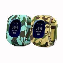 Смарт-Детские часы Q50 анти потерял GPS смартфон Tracker браслет Дети SOS GSM SmartWatch приложение для iPhone IOS Android часы