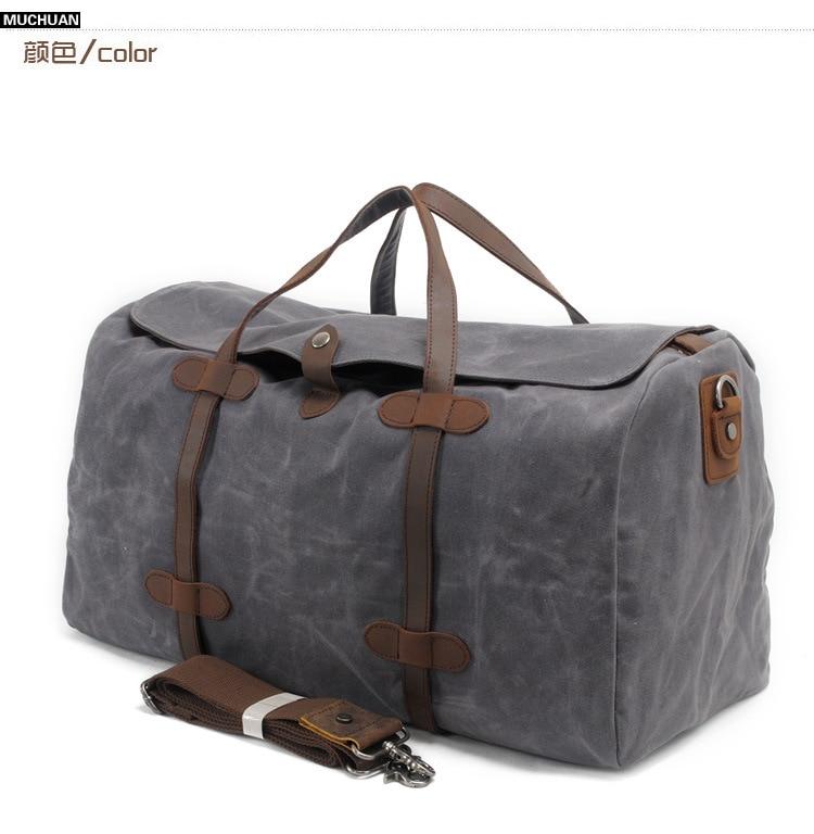 Free Shipping,Brand casual men cowhide handbag.style travel bag,quality wax canvas bag,vintage traveling bag,sales.fashion gift