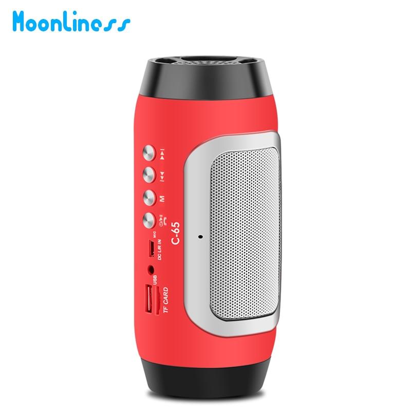 Moonliness Stereo HIFI Music Speaker Portable Bluetooth Wireless ...