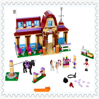 594Pcs Girl Friends Heartlake Riding Club Model Building Block Toys BELA 10562 Figure Gift For Children