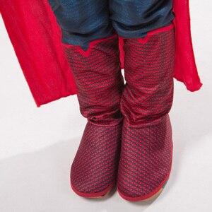 Image 4 - Jyzcosスーパーマン子供男の子子供アニメスーパーヒーローアベンジャーズコスプレpurimカーニバルパーティー衣装