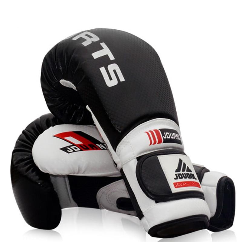Doreza boksi me cilësi të lartë 10oz e zezë e kuqe blu e kuqe - Veshje sportive dhe aksesorë sportive - Foto 5