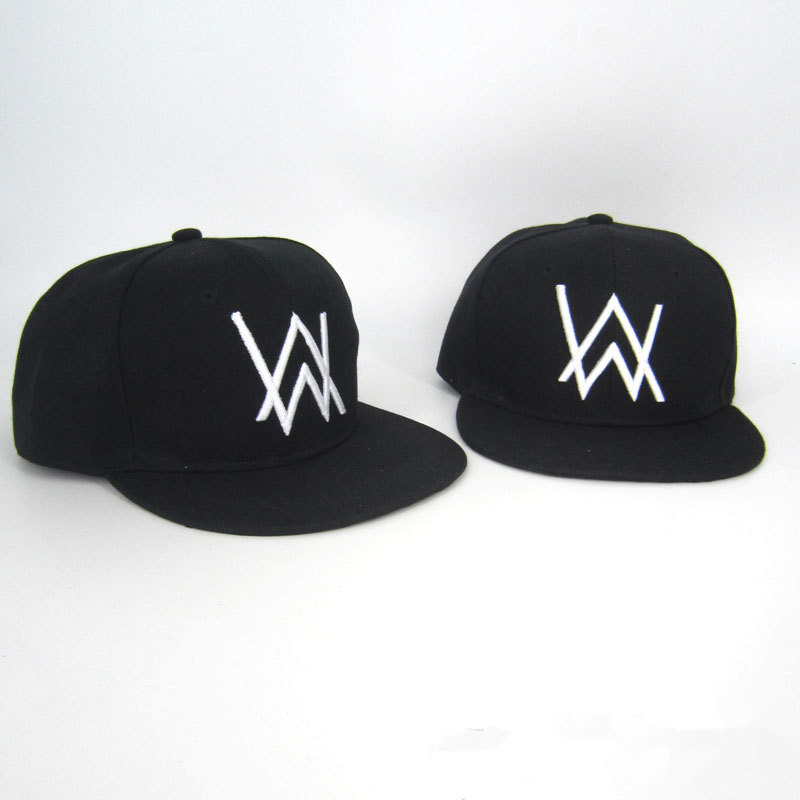 DJ Alan Walker Cosplay Costumes Hats Adjustable Black Summer hat cap Cotton