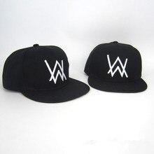 DJ Alan Walker Cosplay sombreros ajustables negro verano algodón del  casquillo del sombrero 29b2a0750c5