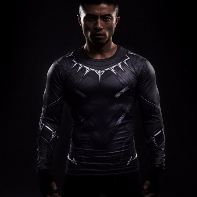 Super Hero Compression Gym Shirts Rash Guard (19 Styles)