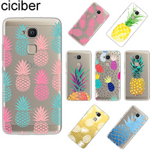 ciciber For BQ Aquaris U2 C U X5 V VS X2 X M Plus Lite Pro Soft TPU Phone Cases Fundas For BQ M5 E5s M5.5 E4.5 M4.5 Pineapple bq m5
