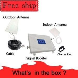 Image 5 - GSM 2G WCDMA 3G LTE 4G 900/2100/2600MHZ טלפון סלולרי מגבר אות 2G 3G 4G LTE 2600 מהדר מאיץ טלפון נייד