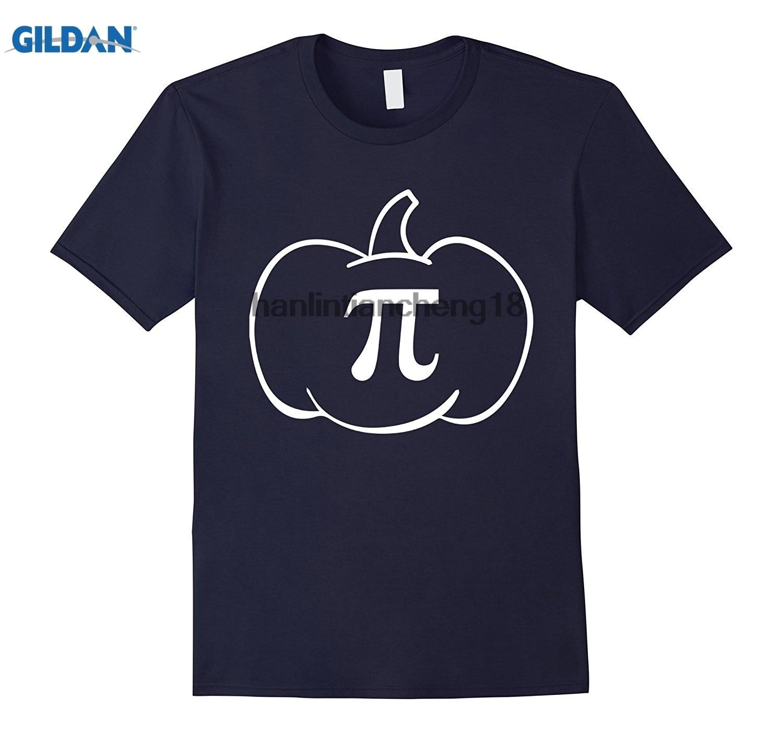 GILDAN 2018 Pumpkin Pi Funny Math Joke Holidays Teacher Gift T-Shirt