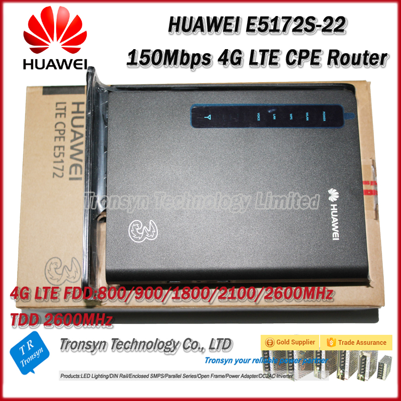 New Original Unlock 150Mbps HUAWEI E5172s-22 4G LTE CPE Wireless Router Support FDD B1 B3 B7 B8 B20 TDD 38 new arrival original unlock huawei e8372h 150mbps 4g lte 12v car wifi router support b3 b7 b8 b28 b40
