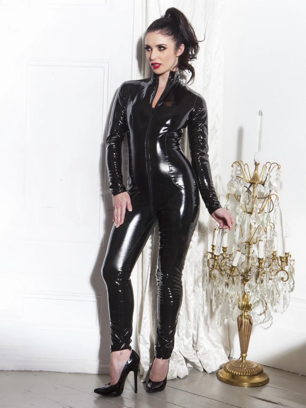 Faux Leather Clubwear