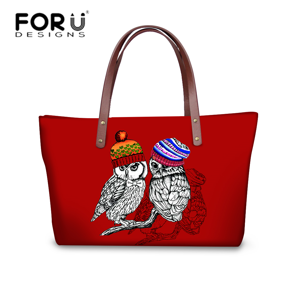 FORUDESIGNS Owl Bag Luxury Handbags Women Bags Designer girls Kawaii Handbag Baobao Bolsa Feminina Sac a Main Bolsos Beach Tote aitesen tote leather bag luxury handbags women messenger bags designer sac a main mochila bolsa feminina kors louis bags