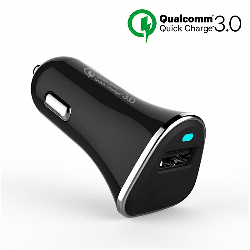 [Qualcomm Quick Charge 3.0 Charger] QC 3.0 5V 9V 12V Car Charge Fast Charger For Samsung Note 4 5 S7 S6 Edge HTC XiaoMi Mi5 Sony (4)