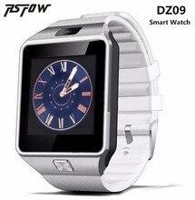 Dispositivos Wearable RsFow DZ09 relógio bluetooth inteligente apoio SMI cartão TF Câmera esporte das mulheres dos homens relógio de pulso Para Android & IOS telefone