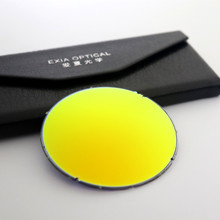 Polarized Lens Sunglasses Flash Orange Mirrored Super Hydrophobia Coatings AR UVA EXIA OPTICAL P2 Series