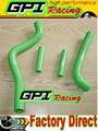 GPI silicone radiator hose FOR KAWASAKI KX125 KX 125 99-02 00 01 1999 2000 2001 2002 GREEN