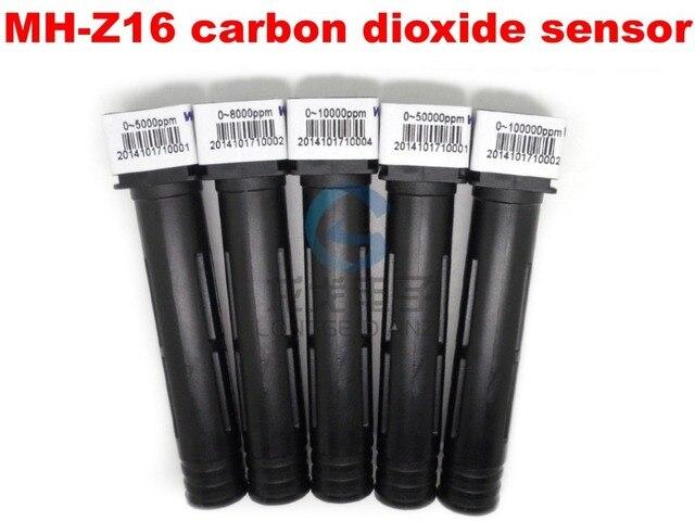 Бесплатная доставка датчик CO2, MH-Z16 инфракрасный тип, датчики углекислого газа, low power