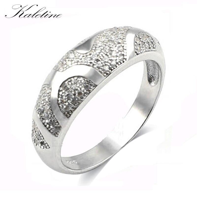 Carraton Rsqd1009 Aaa Cz S925 Silber Ring Für Dame Kunden Zuerst Verlobungsringe Hochzeits- & Verlobungs-schmuck