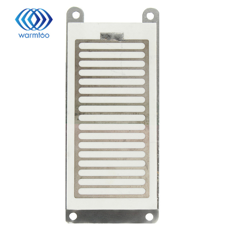 Ceramic Plate With Ceramic Base 5g/h Ozone Generator For Ozone Generator Accessory <font><b>White</b></font> 120mm x 50mm