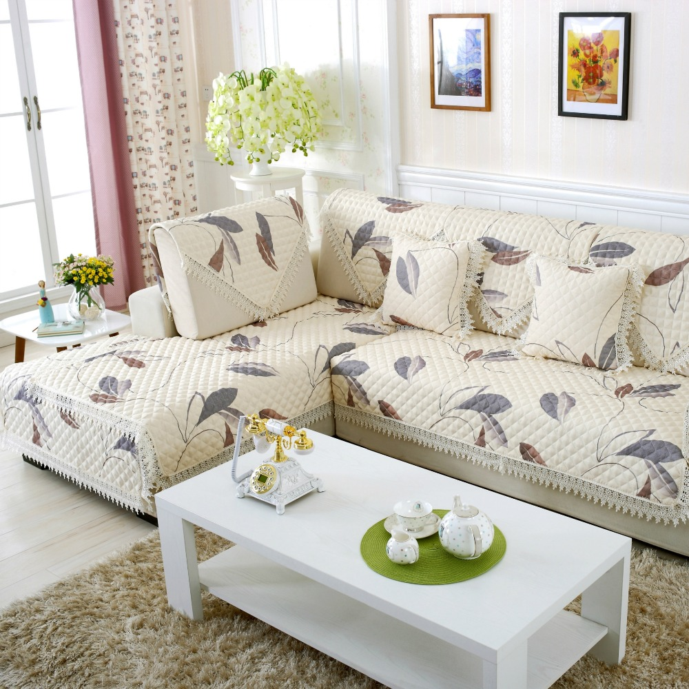 plaid living room furniture. Cloak European on the corner sofa furniture sectional mat living room  Plaid Couch Cover Mordern Cotton cover in Sofa from Home Garden
