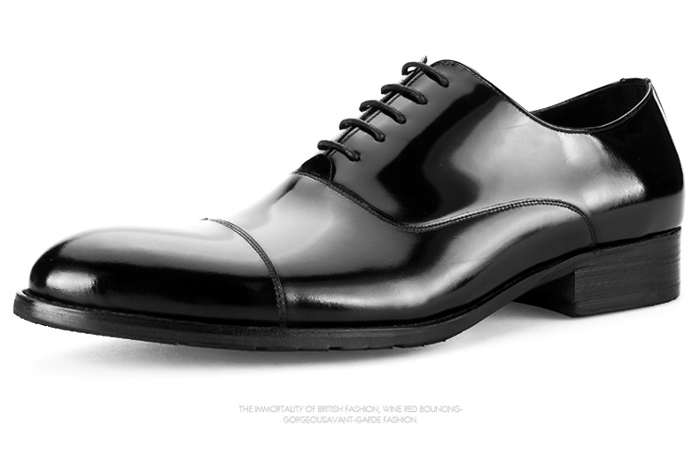 Large size EUR45 fashion black formal business shoes mens dress shoes genuine leather derby shoes mens wedding shoes large size eur45 crocodile grain brown black derby mens dress shoes genuine leather wedding shoes casual mens business shoes