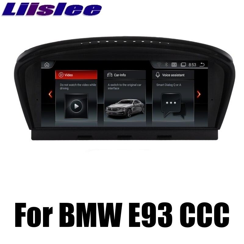 Pour BMW 3 Series E93 2004 ~ 2010 Liislee CCC Style voiture multimédia GPS carte Audio média Radio stéréo lecteur de Navigation NAVI