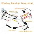 Envío libre 2.4 Ghz Inalámbrico Kit Receptor Para CarMonitor VideoTransmitter Para Conectar La Cámara de Visión Trasera Inversa Back up