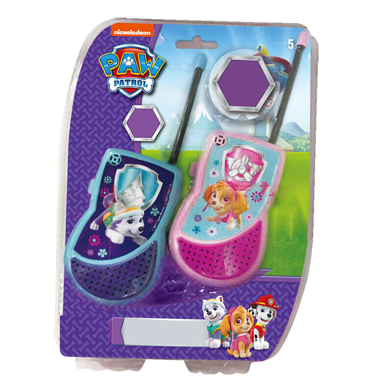 Paw Patrol Electronic Gadgets Toy Dog Patrol Team Sound And Light Observation Tower Lighthouse Headquarters Base Walkie-talkie