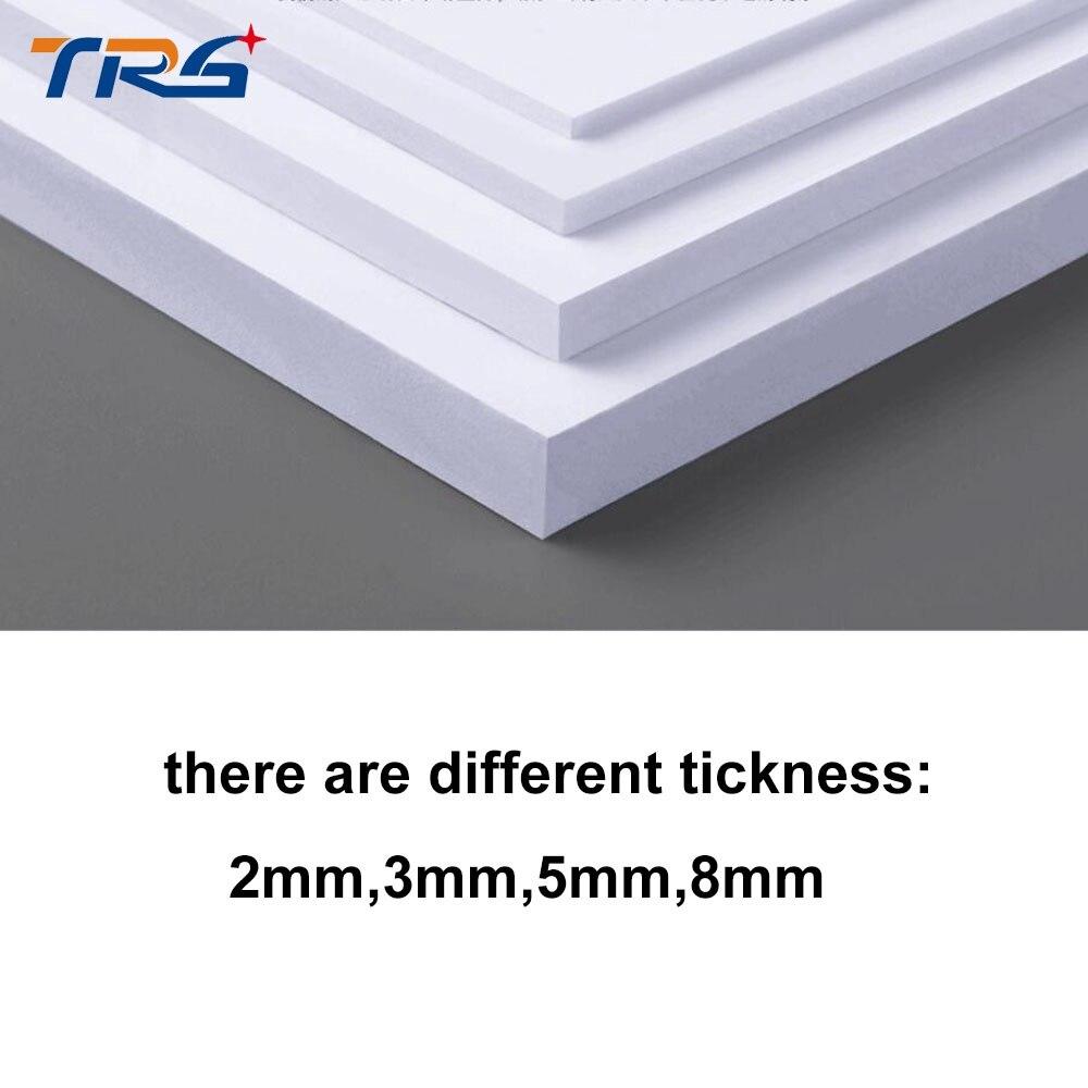 27c02bf029b 2 unids lote 300x400mm tablero de espuma de PVC hoja de plástico de color  blanco espuma modelo de placa en Kits de construcción de Juguetes y  aficiones en ...