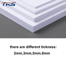 Teraysun 300x400mm PVC foam board plastic flat sheet board white color foam sheet model plate