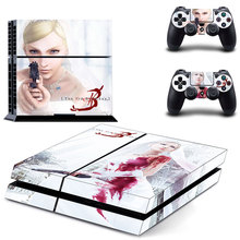 Skin Sticker For PS4 Playstation 4 Console + Controllers Vinyl Decal