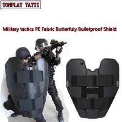 СВМПЭ бабочка баллистический щит SWAT Полиция Самозащита nij iiia складной защитный щит Военная Тактическая безопасность товары