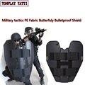 Uhmwpe бабочка баллистический щит Swat Полиция самооборона Nij Iiia складной защитный щит военные тактические товары безопасности