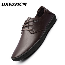 DXKZMCM Men's Casual Shoes Moccasins Men Loafers Luxury Brand Spring New Fashion Sneakers Male Boat Shoes
