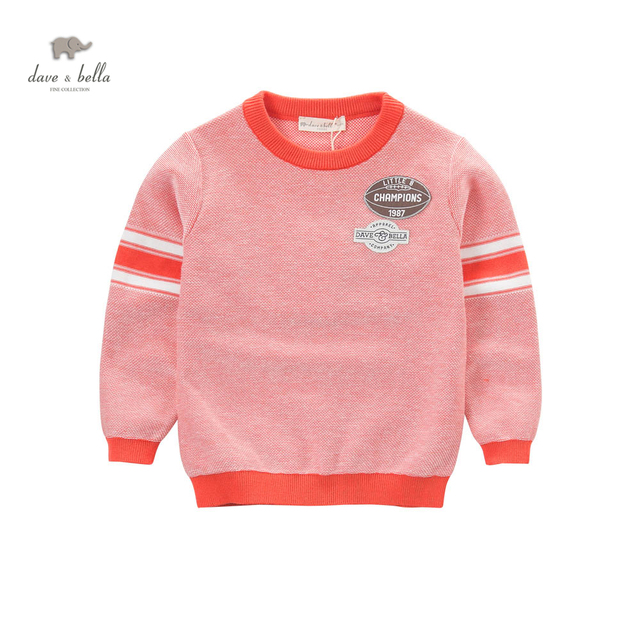 DK0662 dave bella spring boys fashion casual cotton new knits